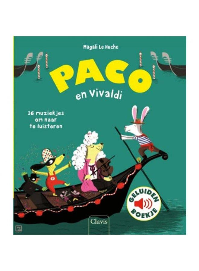 Boeken | paco en vivaldi | geluidenboek | 3+