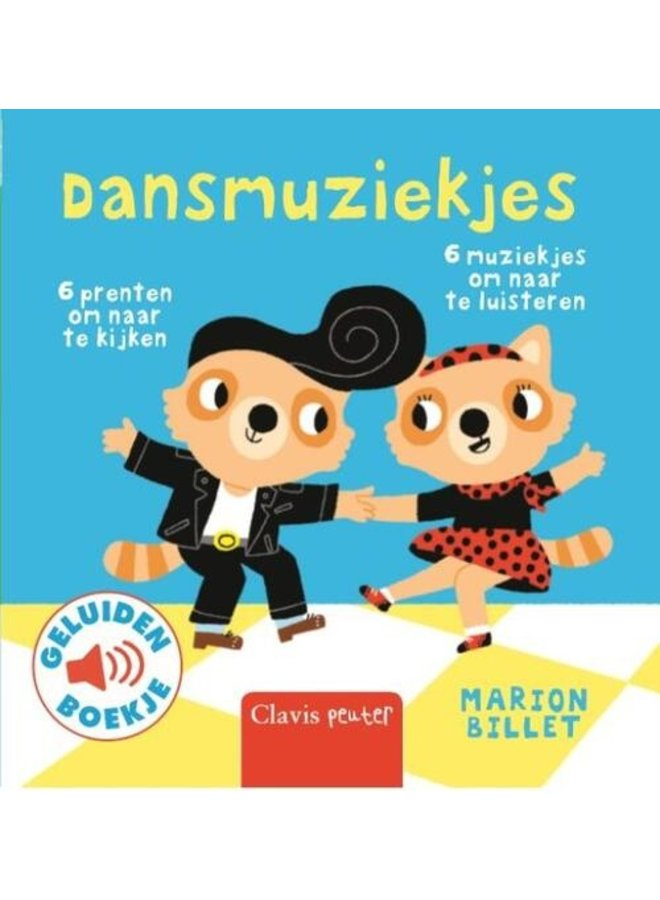 Boeken | geluidenboekje | dansmuziekjes | 1+