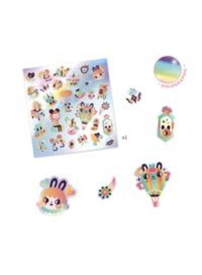 Djeco | stickers | lovely rainbow
