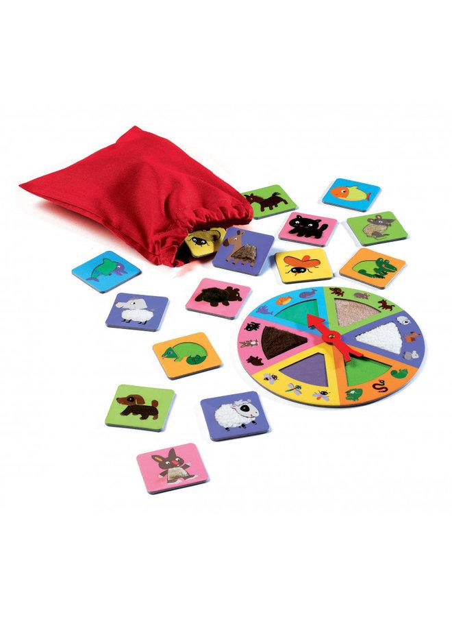Djeco   ontdekkingsspel   tactilo lotto