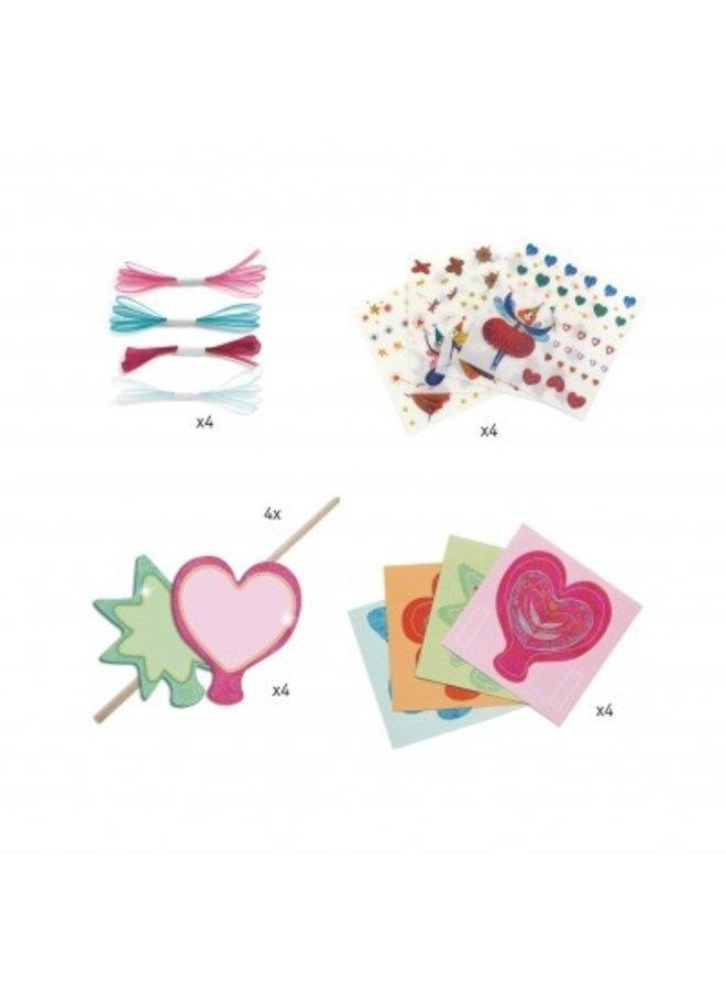 Djeco | knutselpakket | toverstafjes maken