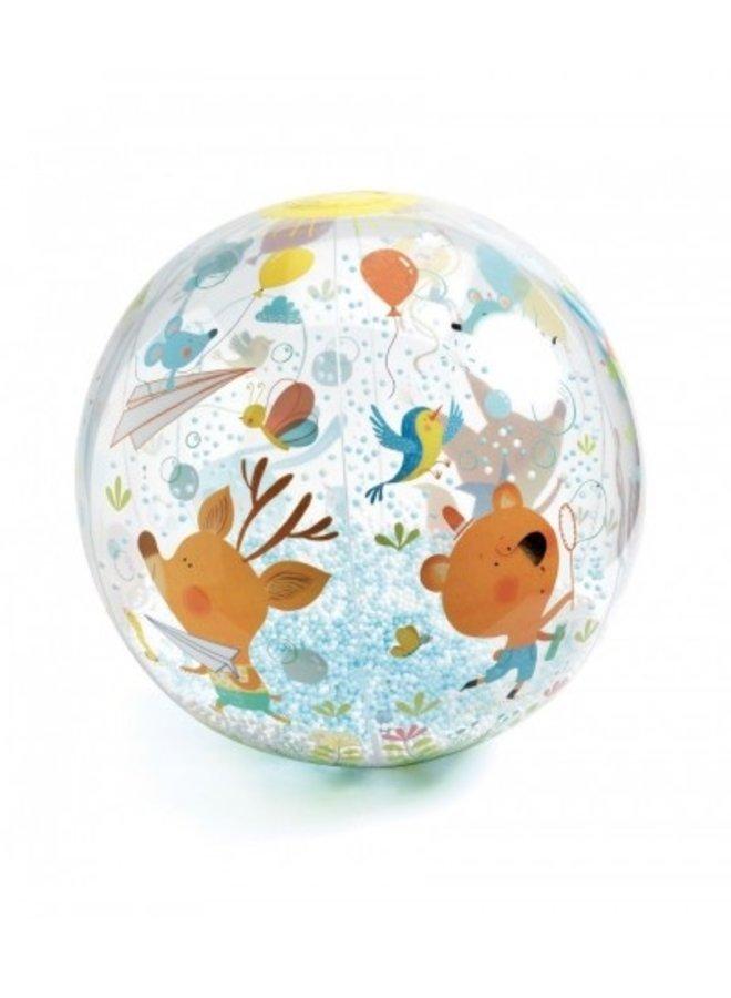 Djeco | opblaasbare bal | bubbels