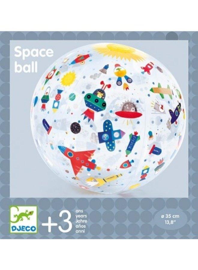 Djeco | opblaasbare bal | ruimte