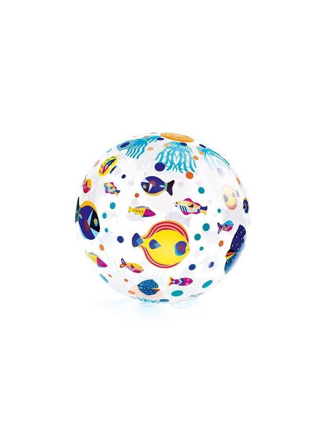 Djeco | opblaasbare bal | vissen