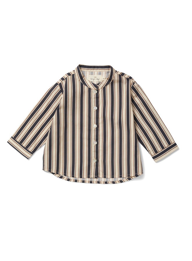 Konges Slojd   verbena shirt   stripes navy