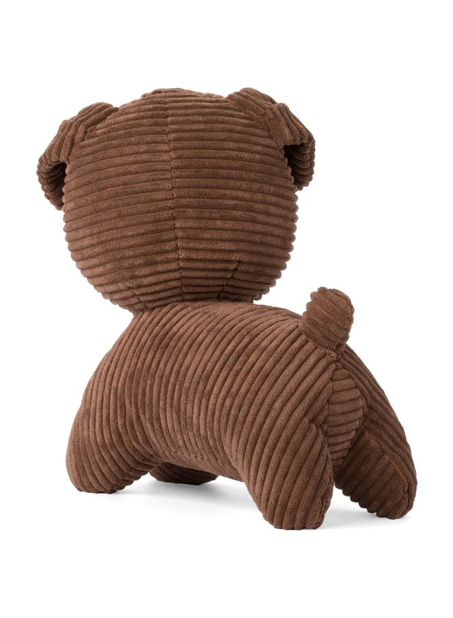 Nijntje | snuffy corduroy brown | 25 cm