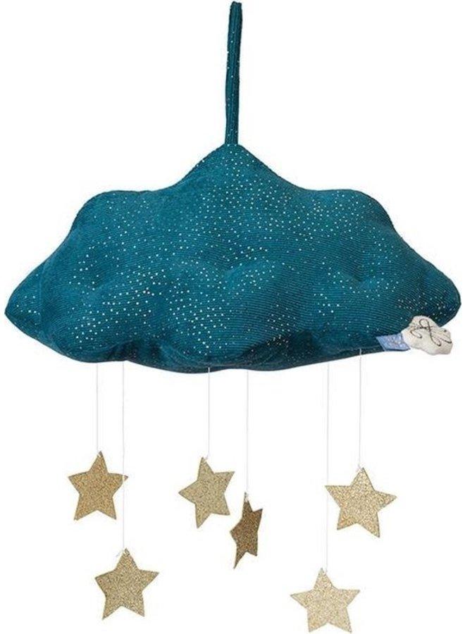 Picca Loulou | blauwe wolk met sterren
