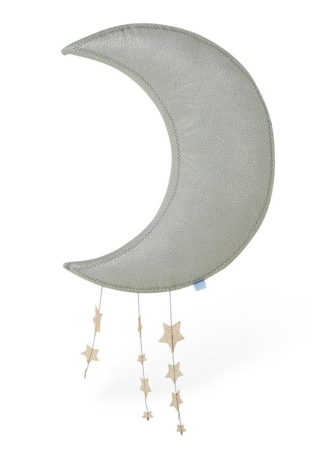 Picca Loulou | grijze maan met sterren