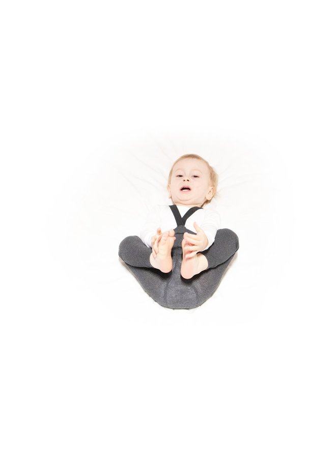 Silly Silas | footless cottons tights | dark grey blend