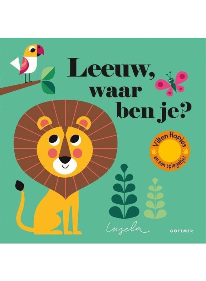 Boeken | leeuw, waar ben je (karton) | 2+