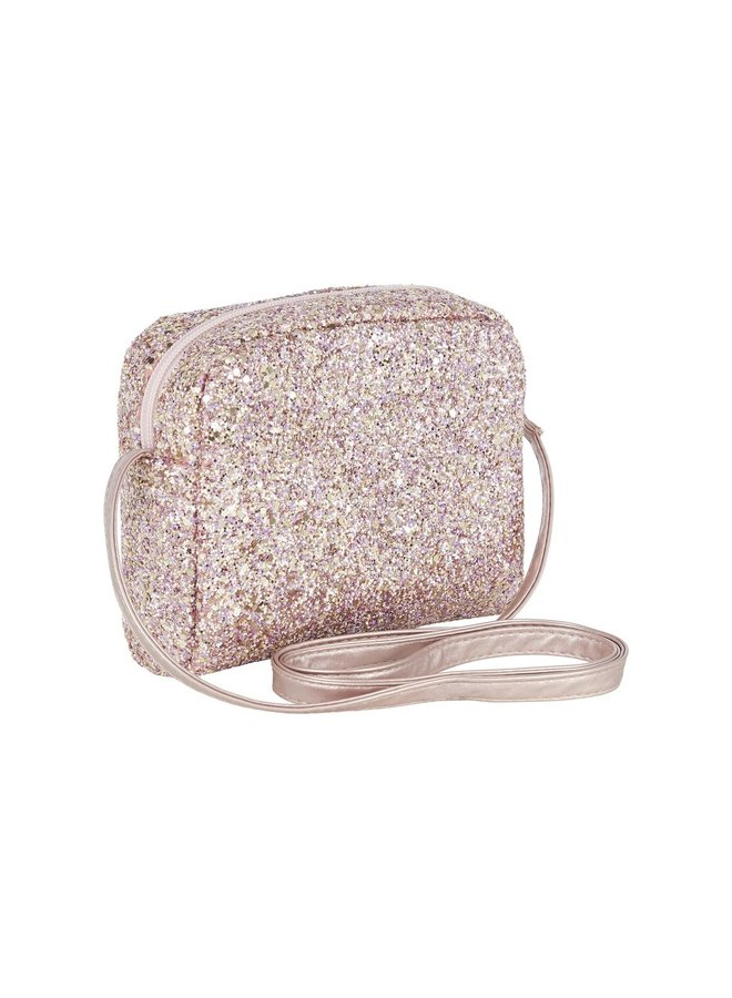 Mimi & Lula | mimi glitter corss body bag | pink