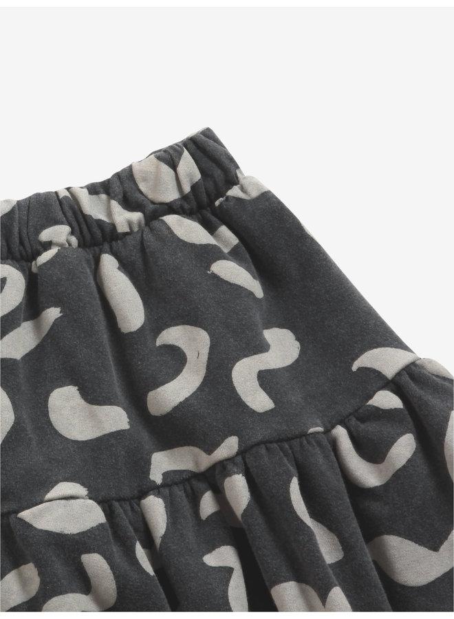 Bobo Choses | shapes all over fleece skirt