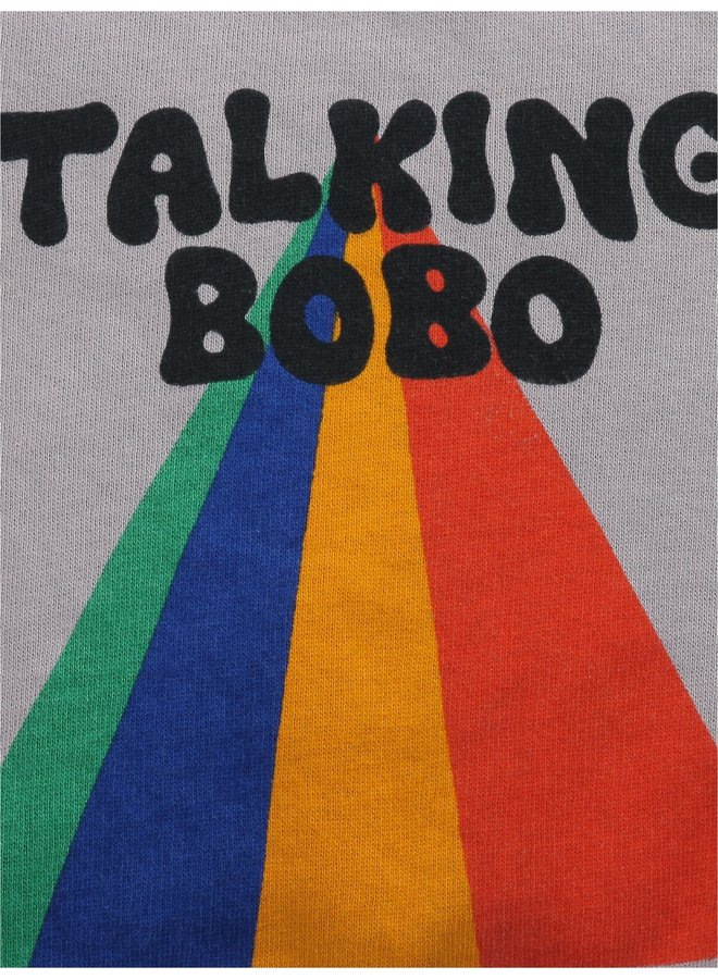 Bobo Choses | talking bobo rainbow sweatshirt