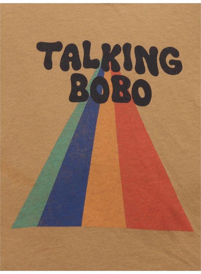 Bobo Choses | talking bobo rainbow long sleeve t-shirt