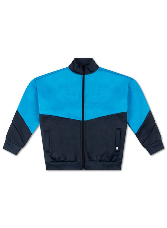 Repose AMS | game jacket | dark night blue color block