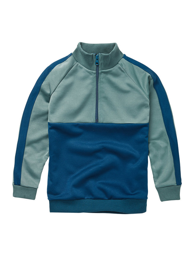 Mingo | tracking sweater | deep navy