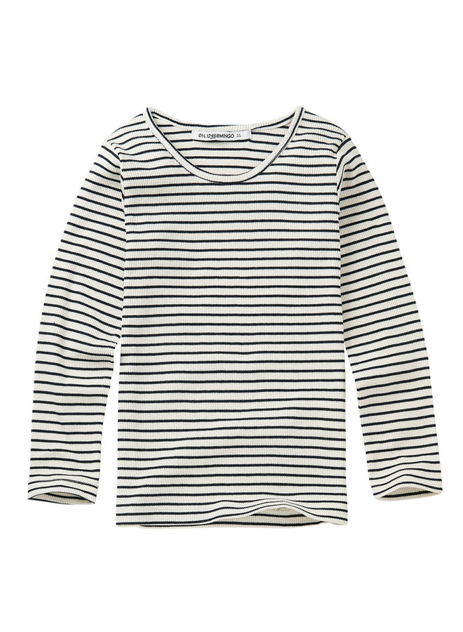 Mingo   rib top   stripes