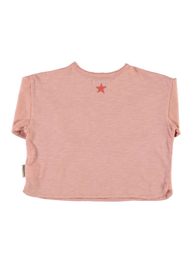 Piupiuchick | longsleeve | light pink w/ print