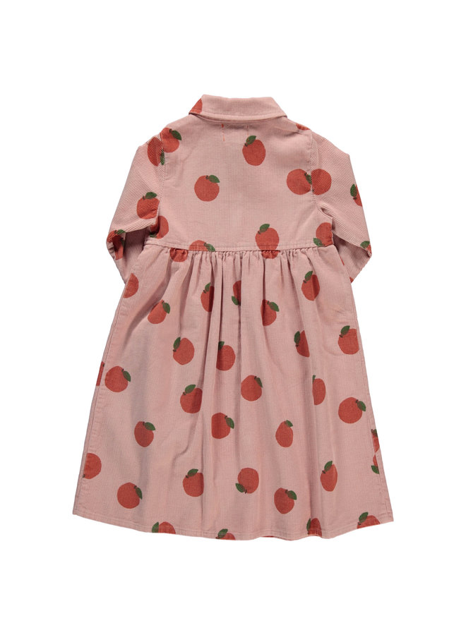 Piupiuchick | long shirt dress | light pink w/allover
