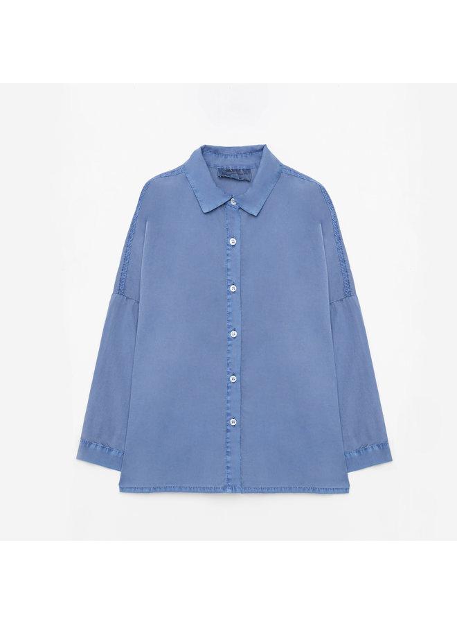 Weekend house kids | blue horse shirt