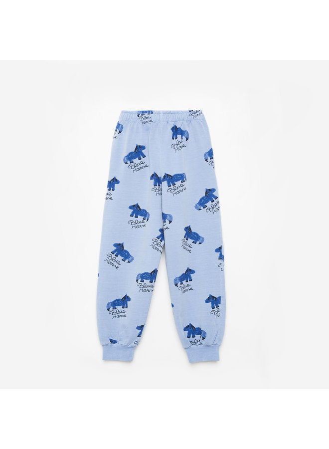 Weekend house kids   blue horse pants