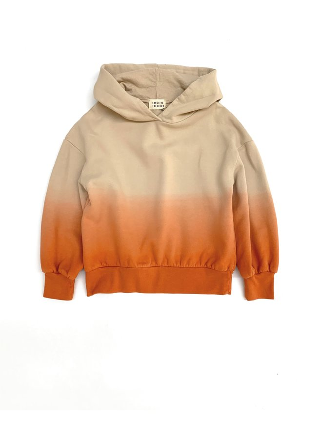 Longlivethequeen   hooded sweater   apricot