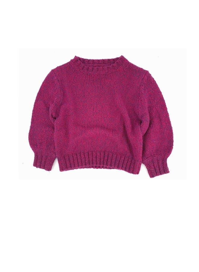 Longlivethequeen | rough sweater | wine twist