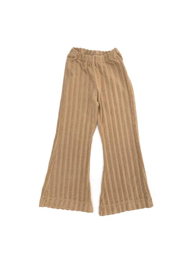 Longlivethequeen | ribvelvet pants | almond