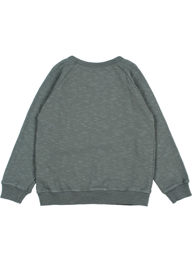 Buho | flame sweatshirt | north sea