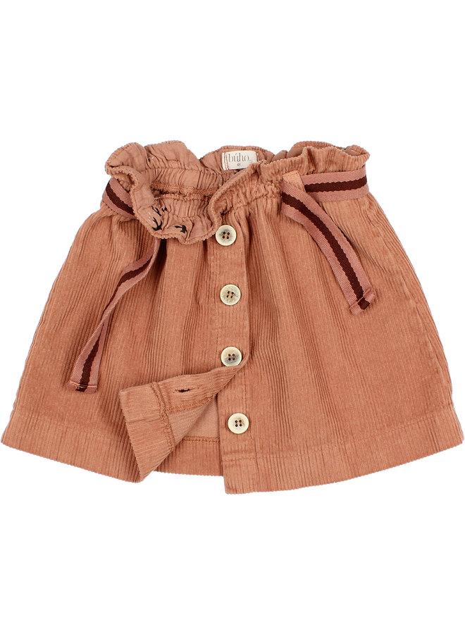 Buho | corduroy skirt | hazel