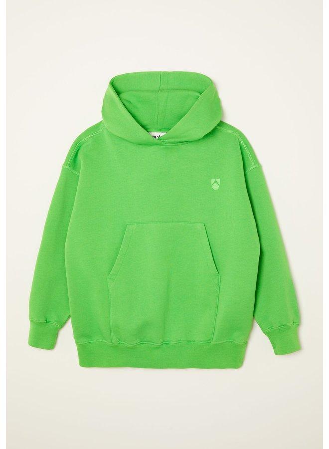 Main story | oversized hoodie | classic green