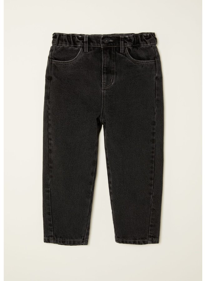 Main story | tapered jean | washed black