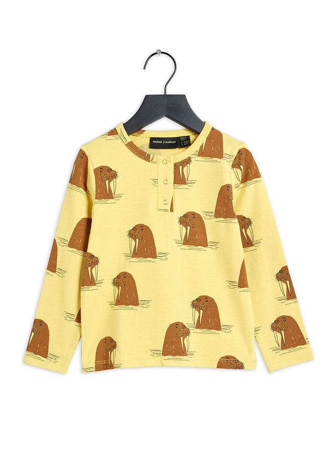 Mini rodini | walrus aop grandpa | yellow