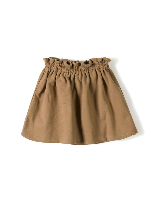 Nixnut | lin skirt | toffee