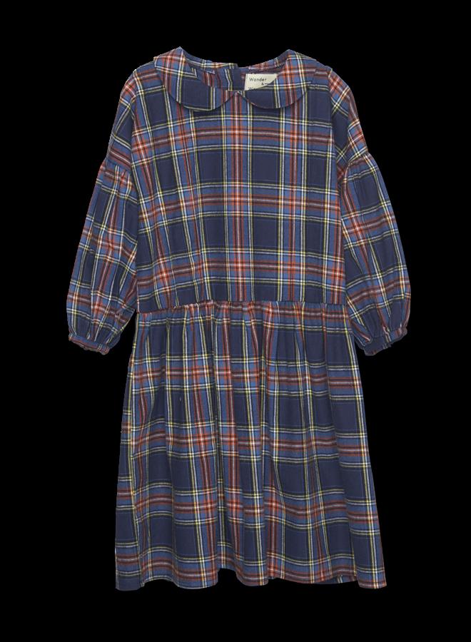 Wander & Wonder | abigail dress | mist plaid