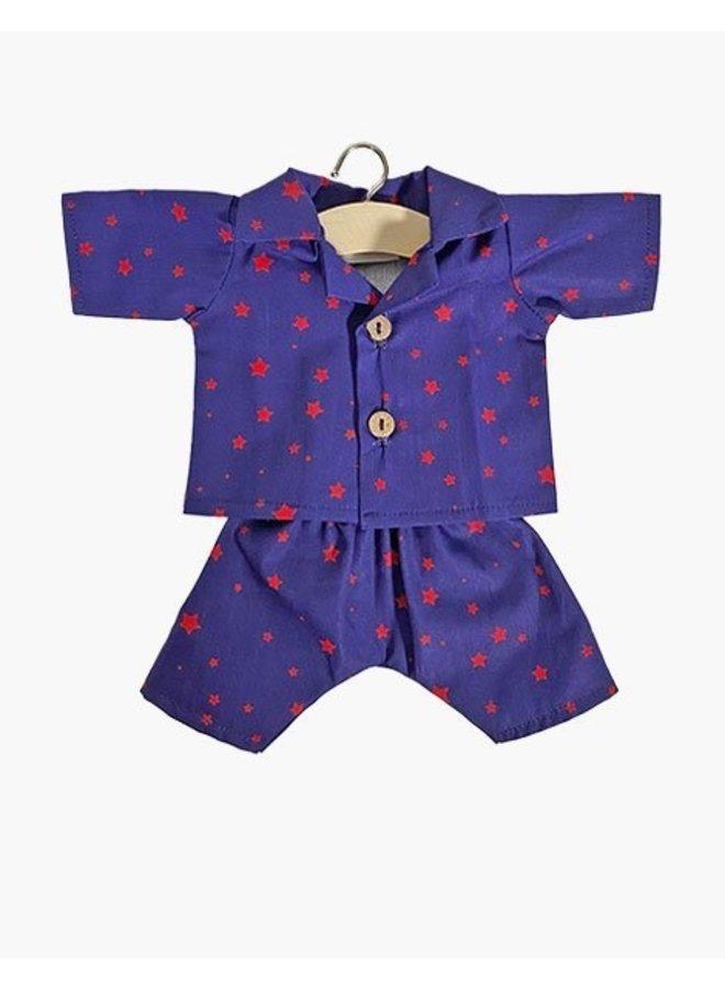 Minikane   poppenkleertjes   pyjama met sterren