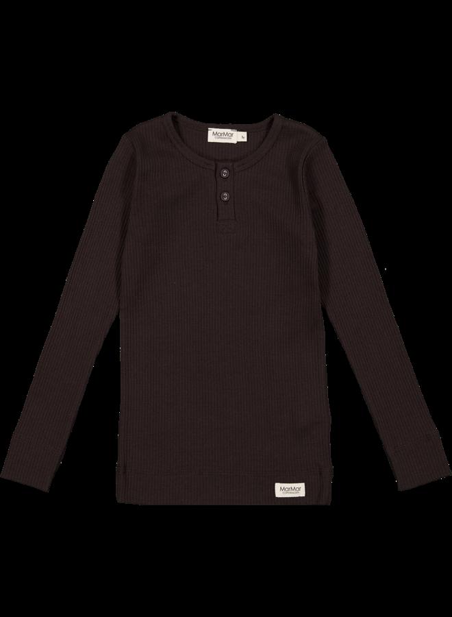MarMar   tee ls   t-shirt   dark chocolate