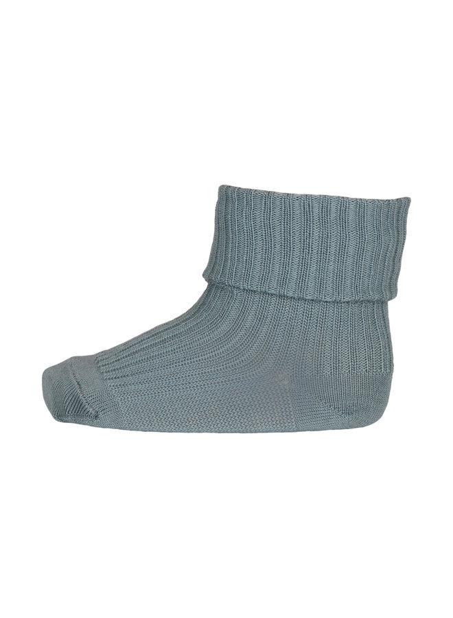 MP Denmark | cotton rib baby socks | stormy sea