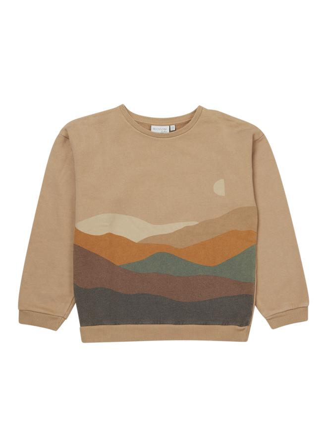 Blossom Kids  | sweater | snowy mountain