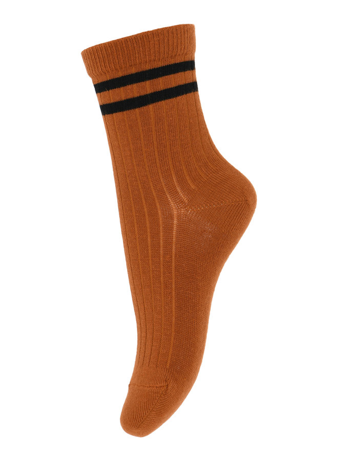 MP Denmark | benn socks | rust