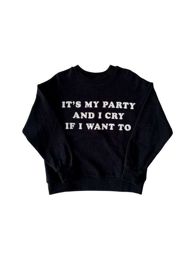 Maed for mini | sweatshirt | it's my party