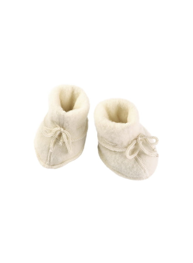 Engel | baby-booties | natural