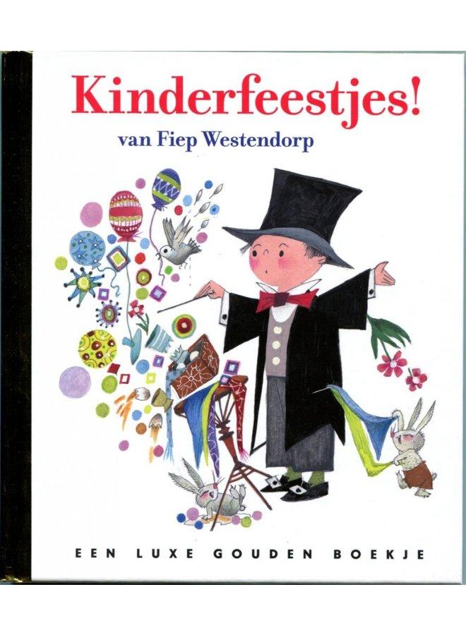 Boeken | een luxe gouden boekje | kinderfeestjes | 3+