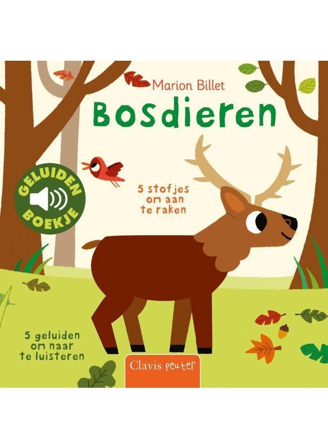 Boeken | geluidenboek | bosdieren