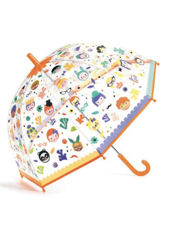 Djeco | paraplu | gezichten