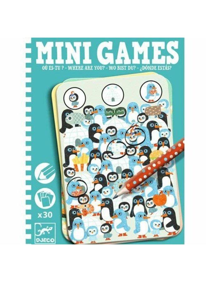 Djeco   minigames   waar ben je?