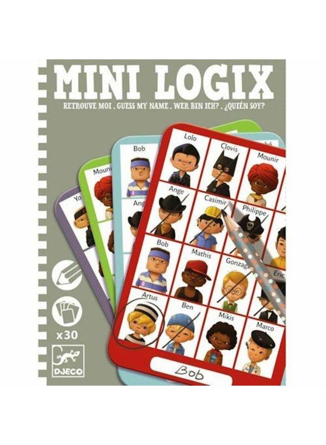 Djeco | minigames | wie is het jongens