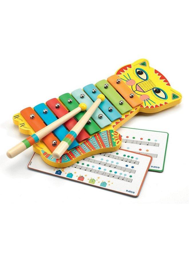 Djeco | xylofoon animambo kat