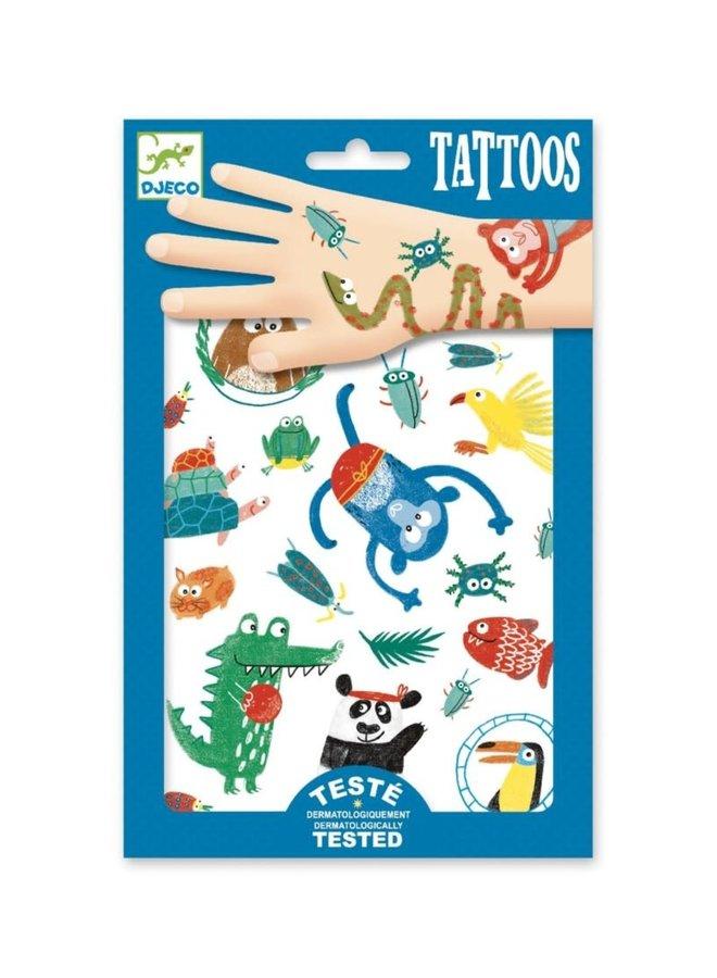 Djeco | tattoos | snouts