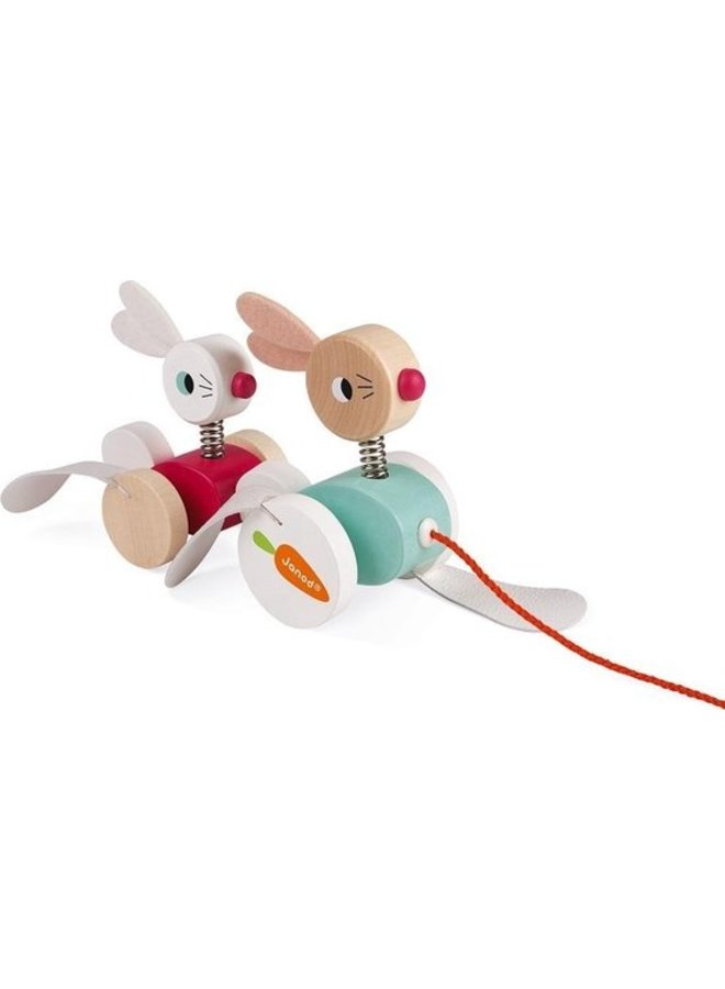 Janod | zigolos | trekfiguur konijnen